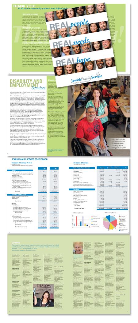Jewish Family Service Annual Report 2012