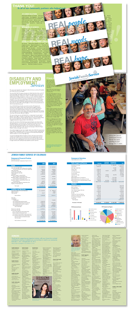Jewish Family Service Annual Report 2012